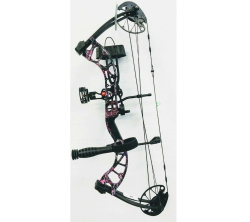 New 2019 PSE Uprising RTS Bow Package 50# RH Muddy Girl Camo