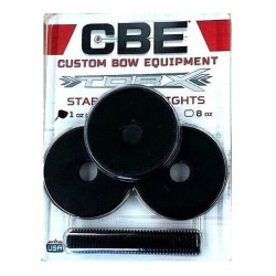 New CBE Products TorX Stabilizer Weights 3 Pack of 1oz. Weights