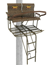 Two Person Treestand, Jaw Safety System